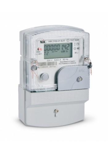 Счетчик электроэнергии НИК 2102-01.Е2Т (5-60А) 220В однофазный многотарифный - (2102-01.Е2Т) (2102-01.Е2Т) Счетчики электрической энергии - интернет - магазин Моя Лампа ™