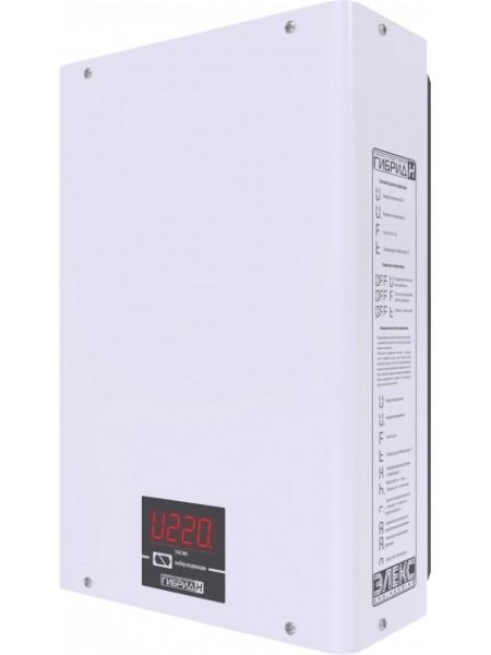 Стабілізатор напруги Елекс 1ф 2,2кВА Гібрід9-1-10 релейний (Гібрид9-1-10) Стабілізатори - інтернет - магазині Моя Лампа ™