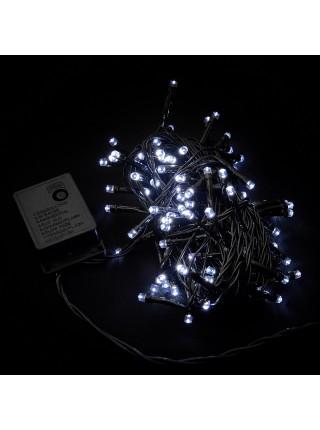 гірлянда внутр DELUX STRING З 100LED 5m білий/черн IP20 - (90009493) (90009493) Гірлянди - інтернет - магазині Моя Лампа ™