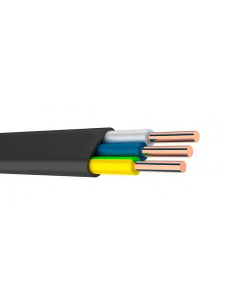 кабель ВВГ-П нг 3х1,5 ІНТЕРЕЛЕКТРО (бухти по 100 м). (Т0000004747) Кабельно-провідникова продукція - інтернет - магазині Моя Лампа ™