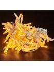 гирлянда внеш DELUX ICICLE 108LED 2x1m 27flash желт/бел IP44 - (90012941) (90012941) Гирлянды - интернет - магазин Моя Лампа ™