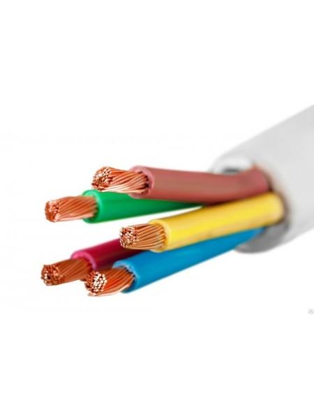 кабель ПВС 5х1,5 ІНТЕРЕЛЕКТРО (бухти по 100 м). (Т0000004594) Кабельно-провідникова продукція - інтернет - магазині Моя Лампа ™
