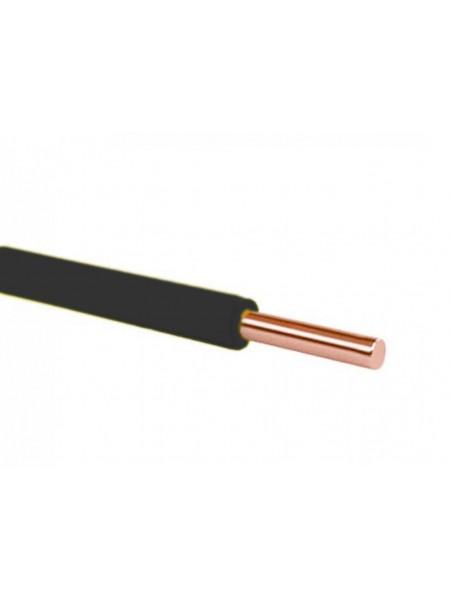 Кабель ПВ 1 - 1,5 чорный Украина (10000001161) Кабельно-проводниковая продукция - интернет - магазин Моя Лампа ™