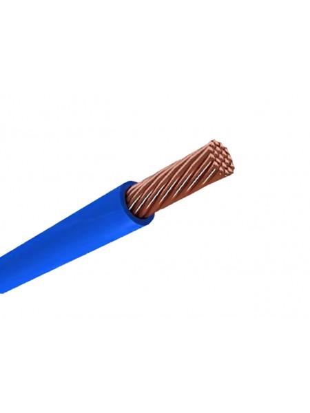 Кабель ПВ 3 - 0,75 синий Украина (10000001191) Кабельно-проводниковая продукция - интернет - магазин Моя Лампа ™