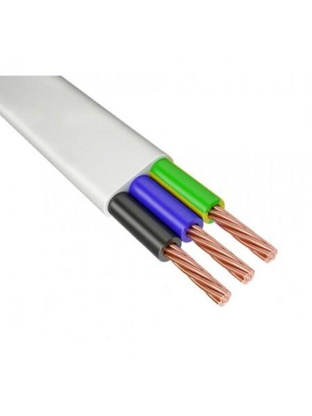 кабель ШВВП 3х0,75 ІНТЕРЕЛЕКТРО (бухти по 100 м). (Т0000004922) Кабельно-провідникова продукція - інтернет - магазині Моя Лампа ™