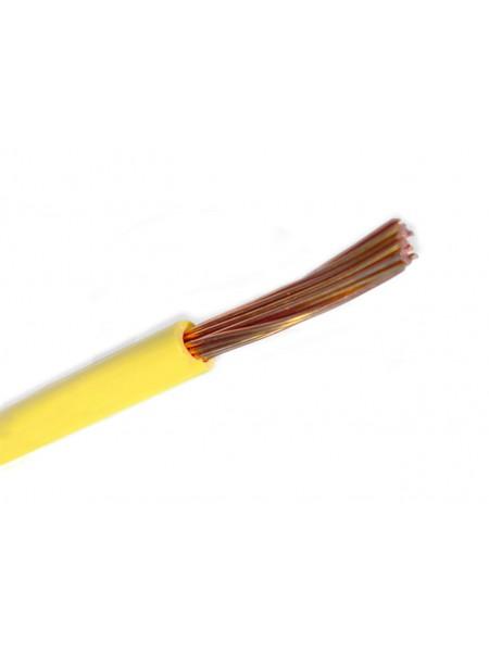Кабель ПВ 3 - 2,5 желтый Украина (10000001223) Кабельно-проводниковая продукция - интернет - магазин Моя Лампа ™
