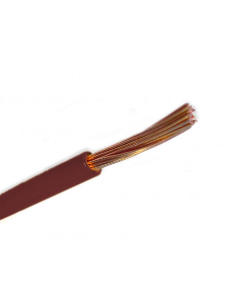 Кабель ПВ 3 - 2,5 коричневый Украина (10000001224) Кабельно-проводниковая продукция - интернет - магазин Моя Лампа ™