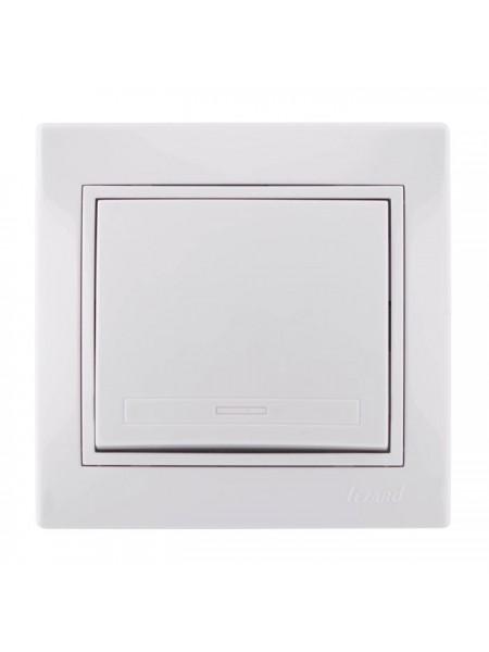 Выключатель Mira701-0202-100 LEZARD белый (701-0202-100) Розетки и выключатели - интернет - магазин Моя Лампа ™