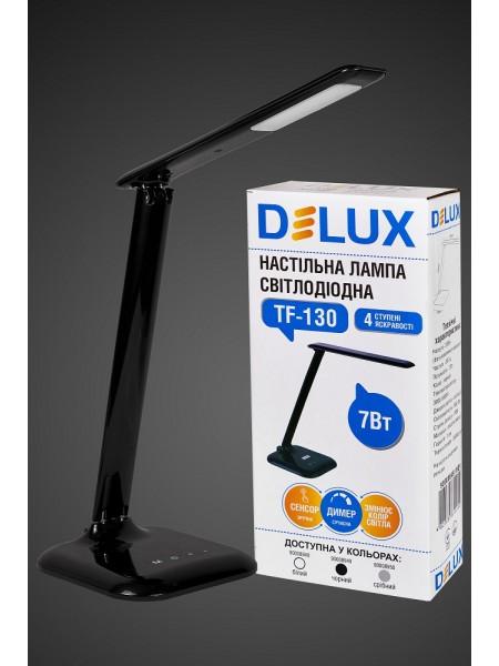 настільний світильник DELUX TF-130 7 Вт LED чорний - (90008949) (90008949) Світильники настільні - інтернет - магазині Моя Лампа ™
