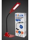 настольный светильник DELUX TF-450 5 Вт 4000K LED красный - (90008942) (90008942) Светильники настольные - интернет - магазин Моя Лампа ™