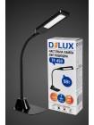 настільний світильник DELUX TF-450 5 Вт 4000K LED чорний - (90008941) (90008941) Світильники настільні - інтернет - магазині Моя Лампа ™