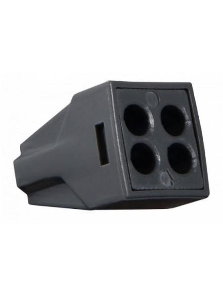 Клема швидкого монтажу Аско  4х2,5мм ACN-104 (A0130010045) Засоби для електромонтажу - інтернет - магазині Моя Лампа ™