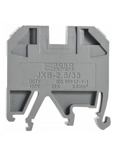 Клемник JXB- 2,5 (A0130010001) Засоби для електромонтажу - інтернет - магазині Моя Лампа ™