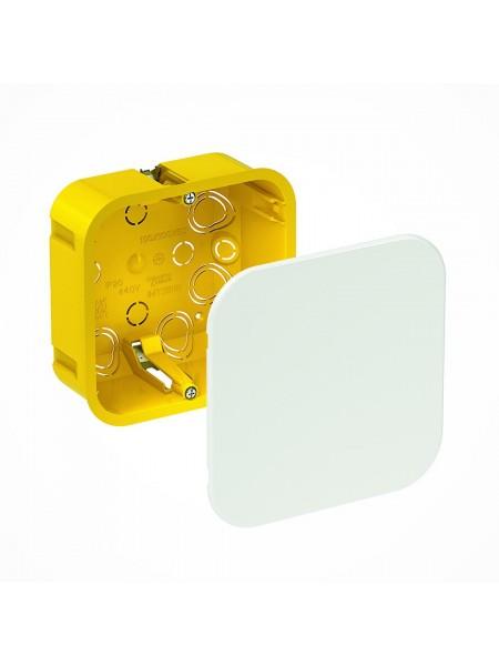 кор.монтаж SCHNEIDER IMT35161 розподіл. (Під г/к квадратна) 100x100x50 (IMT35161) Коробки монтажні - інтернет - магазині Моя Лампа ™