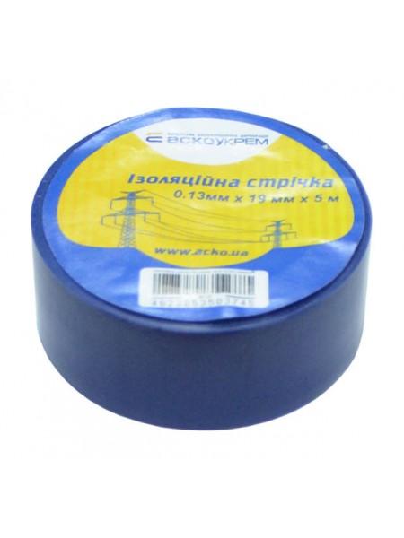 Изолента ПВХ 0,13х19х 5м Аско синяя (A0150020014_307833) Изоляционная лента - интернет - магазин Моя Лампа ™