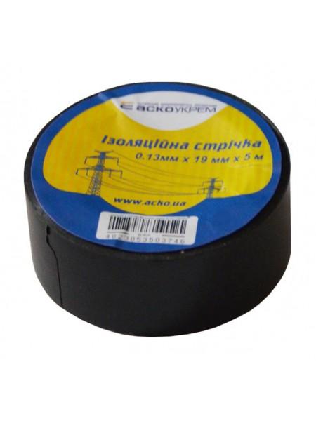 Изолента ПВХ 0,13х19х 5м Аско черная (A0150020014_905403) Изоляционная лента - интернет - магазин Моя Лампа ™
