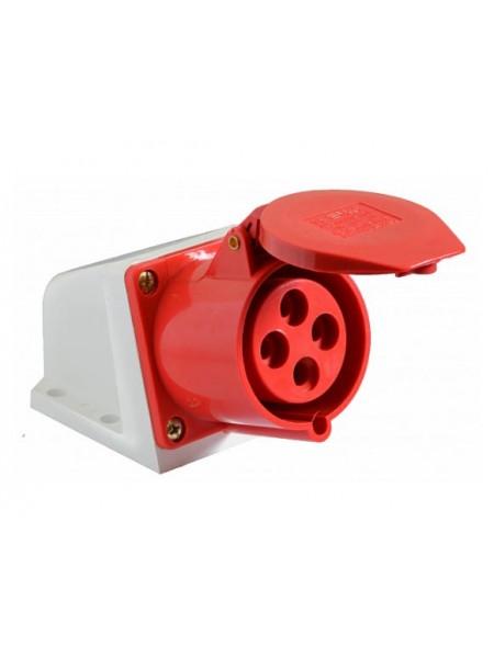 Розетка стационарная ГС 32А / 4 (124) АСКО (A0080040005) Силовые разъемы - интернет - магазин Моя Лампа ™