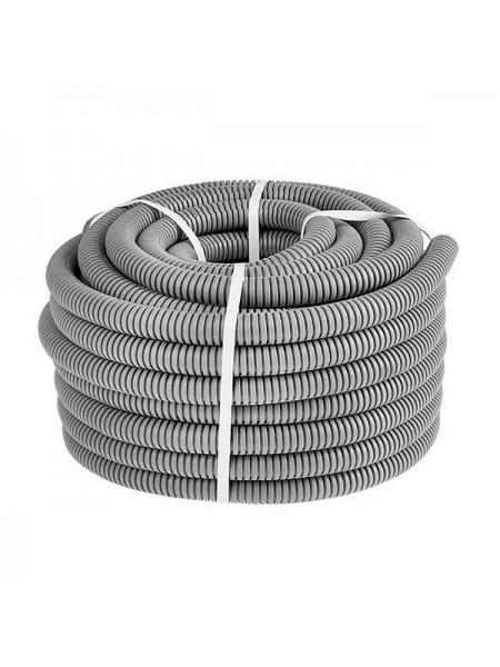 Труба гофрована  CableTech 32 (50м) сірий (5704057055) Труба гофрована - інтернет - магазині Моя Лампа ™
