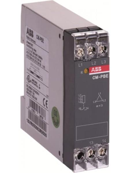 Реле контроля трехфазных цепей CM-PBE АББ (1SVR550882R9500) Средства защиты от перенапряжения - интернет - магазин Моя Лампа ™