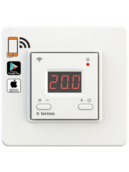 Терморегулятор комнатный 5 ... 45 ° С 16А terneo ax (wi-fi) (10000001411) Термостаты - интернет - магазин Моя Лампа ™