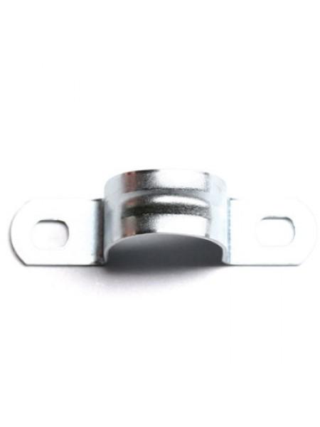 Скоба металлическая дволапкова 15 (d = 19-20мм) (100шт / уп) ДКС (53355) Крепления для кабелей и труб - интернет - магазин Моя Лампа ™