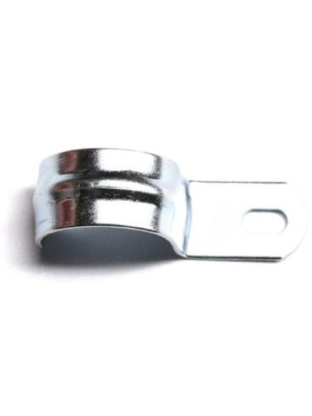 Скоба металлическая однолапкова 15 (d = 19-20мм) (100шт / уп) ДКС (53342) Крепления для кабелей и труб - интернет - магазин Моя Лампа ™