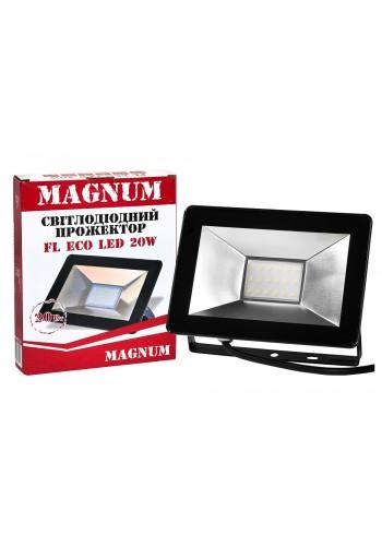 светодиодный прожектор MAGNUM FL ECO LED 20Вт 6500К IP65 - (90008792) (90008792) Товары снятые с производства - интернет - магазин Моя Лампа ™