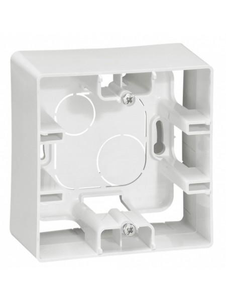 Коробка для накладного монтажу 1-постова БІЛИЙ 672510 Legrand Etika (672510) Etika - интернет - магазин Моя Лампа ™
