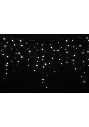 гирлянда внеш DELUX ICICLE 120LED 2x0.9m бел/черн IP44 EN - (90009065) (90009065) Гирлянды - интернет - магазин Моя Лампа ™