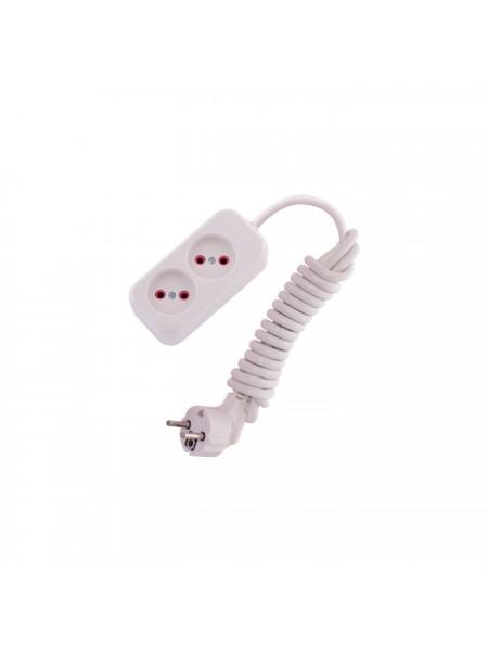 Подовжувач LILA б / з 2 входи 2 метри - 720-0202-203 (720-0202-203) Подовжувачі - інтернет - магазині Моя Лампа ™