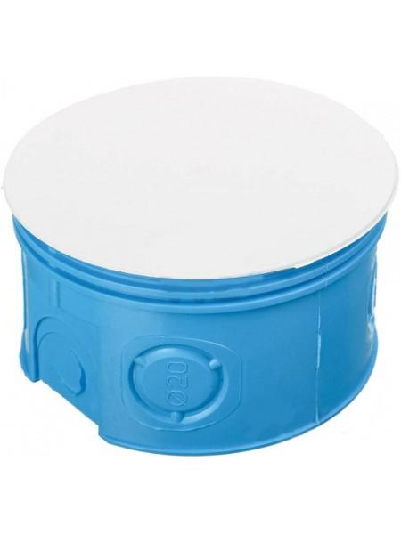 Коробка розподільча  80 (100шт) поліамід синя Smartbox (BS 80 SE) Коробки монтажные - интернет - магазин Моя Лампа ™