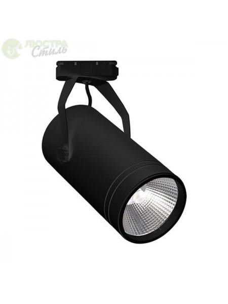 Світильник трековй BERN COB LED 30W 4200K (чорний) lm  180-240V (018-017-0030_2) Трекові системи - інтернет - магазині Моя Лампа ™
