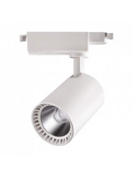 Світильник трековй LYON-18 COB LED 18W 4200K (білий) lm  180-240V (018-020-0018) Трекові системи - інтернет - магазині Моя Лампа ™