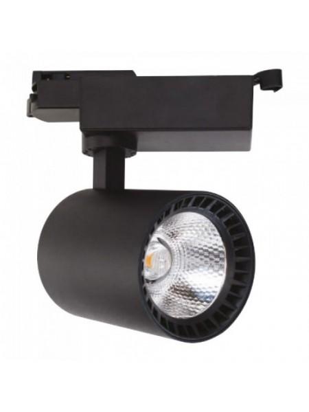 Світильник трековй LYON-24 COB LED 24W 4200K (білий) lm  180-240V (018-020-0024) Трекові системи - інтернет - магазині Моя Лампа ™