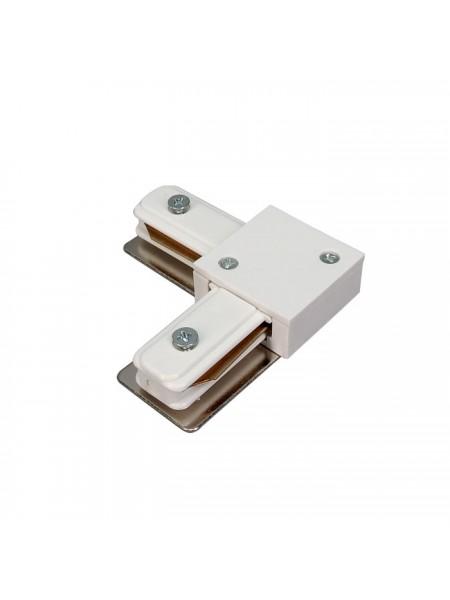 Зєднання для рейки кутове (біле) 220-240V (L CORNER  CONNECTOR) Трекові системи - інтернет - магазині Моя Лампа ™