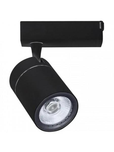 Світильник трековй DUBLIN COB LED 35W 4200K (чорний) lm  180-240V (018-018-0035_2) Трекові системи - інтернет - магазині Моя Лампа ™