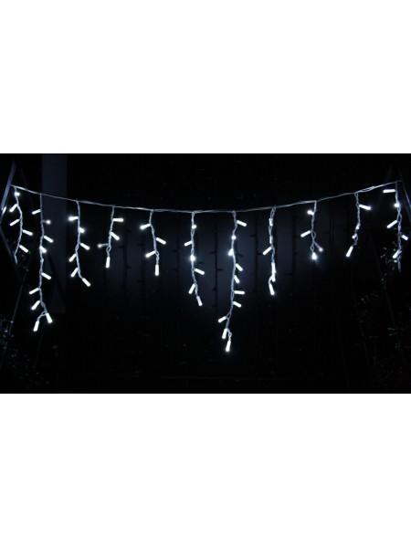 Icicle (бахрома) Static (статичний, без мигання) білий кабель - 90 LED 2.0х0.5м - холодний білий (10203007) Гирлянды - интернет - магазин Моя Лампа ™
