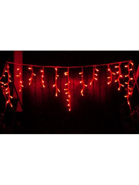 Icicle (бахрома) Static (статичний, без мигання) білий кабель - 90 LED 2.0х0.5м - червоний (10203011) Гирлянды - интернет - магазин Моя Лампа ™