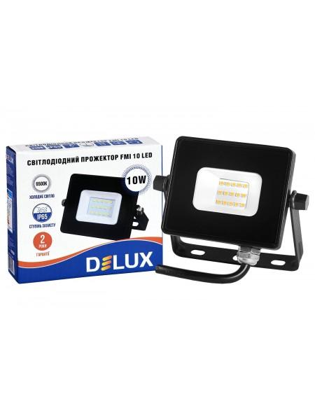 світлодіодний прожектор DELUX FMI 10 LED 10Вт 6500K IP65 - 90015133 (90015133) LED Прожекторы - интернет - магазин Моя Лампа ™