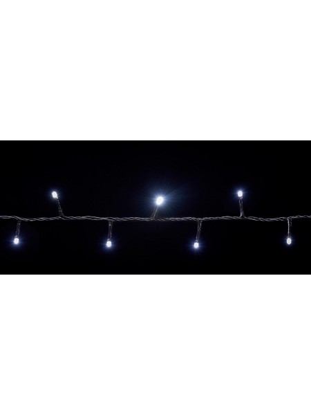 гирлянда внутр DELUX STRING С 100LED 5m белый/черн IP20 - (90009493) (90009493) Гирлянды - интернет - магазин Моя Лампа ™