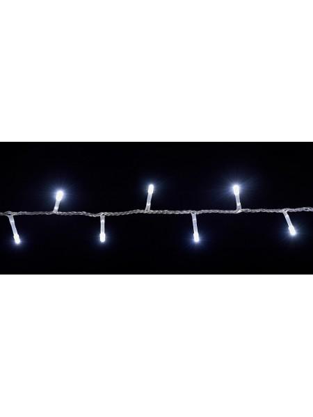 гірлянда внутр DELUX STRING З 100LED 5m білий/прозо IP20 - (90009494) (90009494) Гірлянди - інтернет - магазині Моя Лампа ™