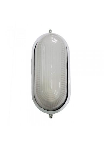 светильник настенный MAGNUM MIF 020 100W E27 белый IP 54 - (10042332) (10042332) Светильники для ЖКХ и промышленные - интернет - магазин Моя Лампа ™