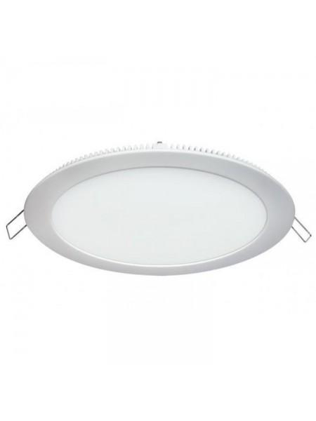 Світлодіодна панель Lezard кругла-18Вт внутрішня (225/205) 6400K, 1440 люмен - (464RRP-18) (464RRP-18) Світильники для торгових приміщень і офісів - інтернет - магазині Моя Лампа ™