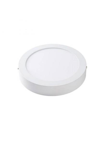 Світлодіодна панель Lezard кругла-12Вт накладна (170) 4200K, 950 люмен - (442SRP-12) (442SRP-12) Світильники для торгових приміщень і офісів - інтернет - магазині Моя Лампа ™