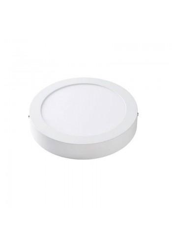Светодиодная панель Lezard  круглая-12Вт  накладная (170) 6400K, 950 люмен - (464SRP-12) (464SRP-12) Светильники для торговых помещений и офисов - интернет - магазин Моя Лампа ™