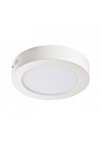 Светодиодная панель Lezard  круглая-18Вт накладная (220) 6400K, 1440 люмен - (464SRP-18) (464SRP-18) Светильники для торговых помещений и офисов - интернет - магазин Моя Лампа ™