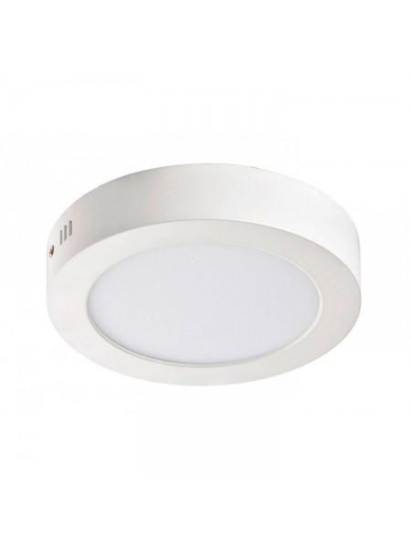 Світлодіодна панель Lezard кругла-18Вт накладна (220) 6400K, 1440 люмен - (464SRP-18) (464SRP-18) Світильники для торгових приміщень і офісів - інтернет - магазині Моя Лампа ™