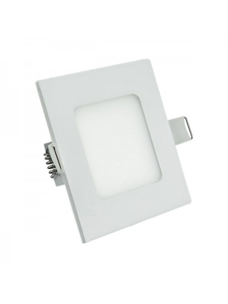 Светодиодная панель Lezard  квадратнаяя-6Вт внутренная (120x120/110x110) 4200K, 470 люмен - (442RKP-06) (442RKP-06) Светильники для торговых помещений и офисов - интернет - магазин Моя Лампа ™