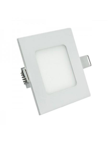 Светодиодная панель Lezard  квадратнаяя-3Вт внутренная (85x85/75x75) 6400K, 240 люмен - (464RKP-03) (464RKP-03) Светильники для торговых помещений и офисов - интернет - магазин Моя Лампа ™