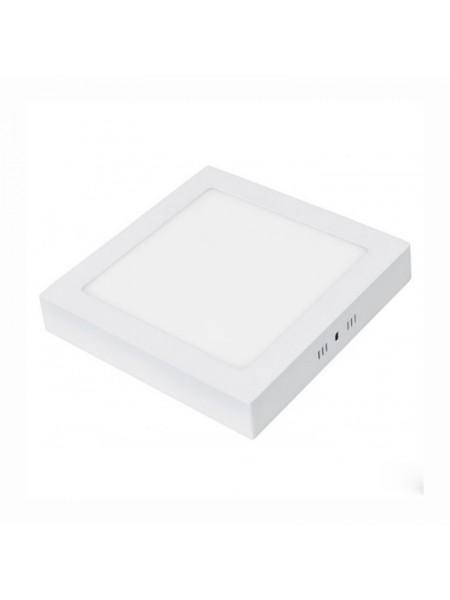Светодиодная панель Lezard  квадратнаяя-18Вт накладная (220x220) 4200K, 1440 люмен - (442SKP-18) (442SKP-18) Светильники для торговых помещений и офисов - интернет - магазин Моя Лампа ™